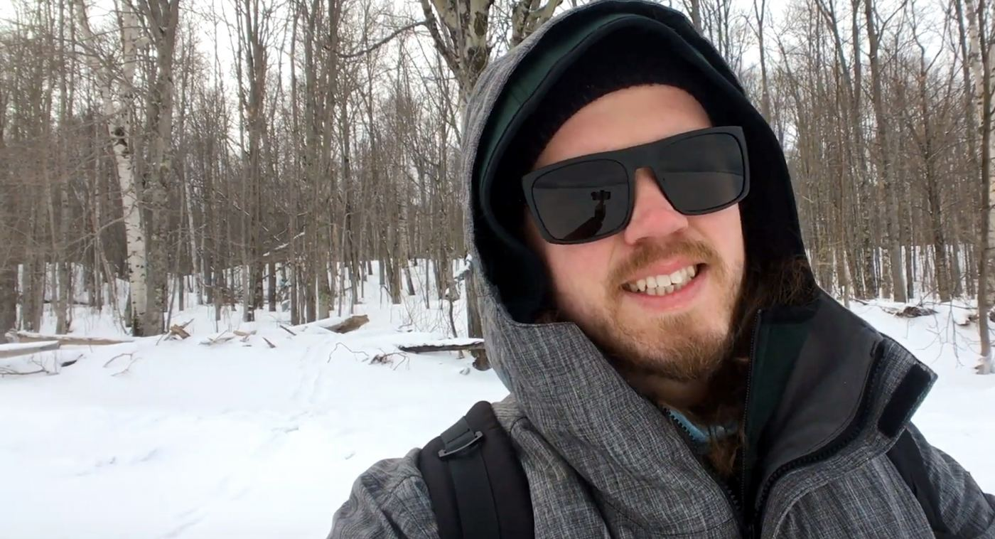 Exploring the Porcupine Mountains in the Winter