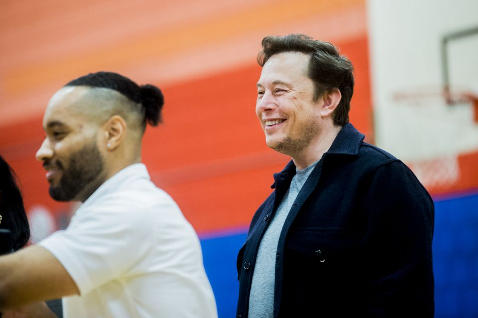 Elon Musk tells Flint students to push their creative limits