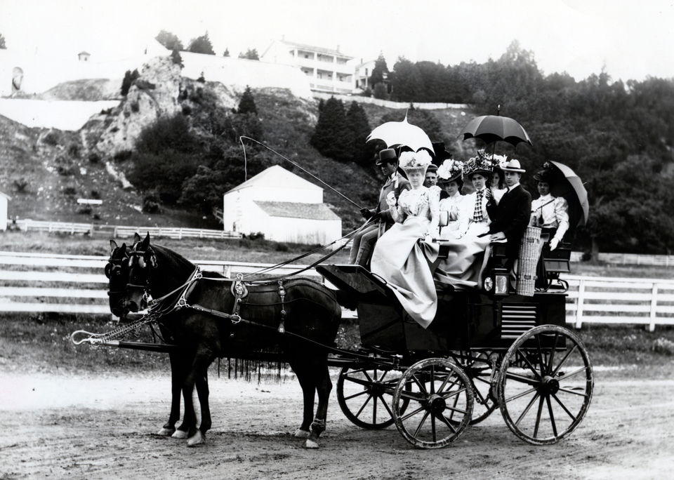 Mackinac Island used to be America's second national park