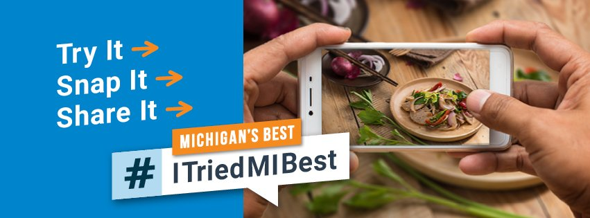 Share your Michigan's Best story with us