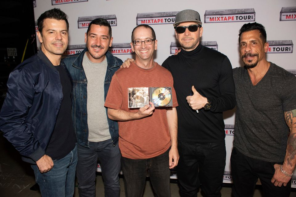 Fan completes 3-decade quest for signed NKOTB 'Hangin' Tough' album