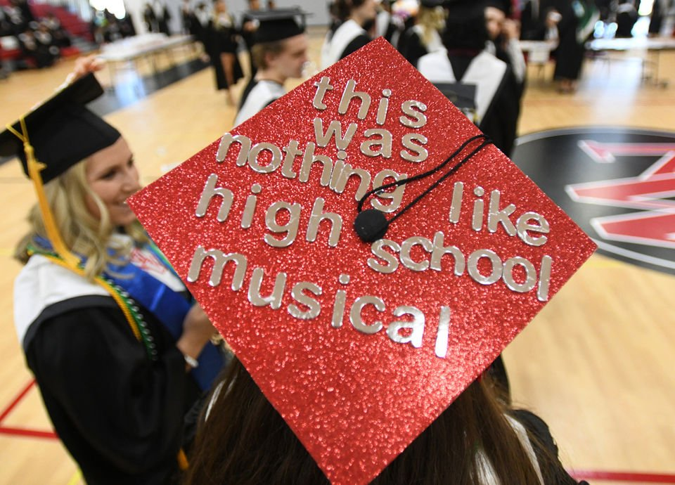 Graduation cap messages, from funny to poignant