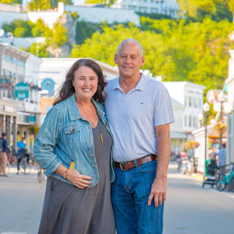 How this couple started a new adventure as Mackinac Island innkeepers