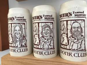 Check out these special mugs that Tyler makes for mug club members