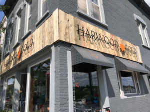 Before hitting the highway, you don't want to miss a stop at Harwood Gold Cafe to sample the sweet varieties of Maple Syrup and fuel up with their delicious meat pies