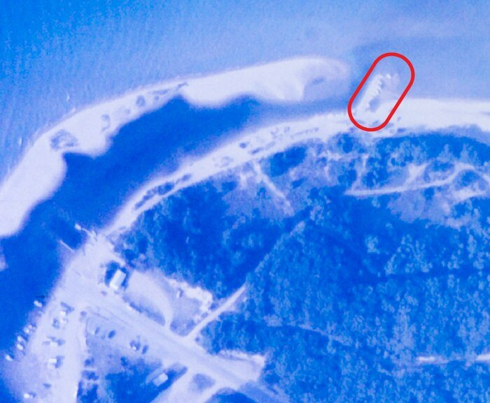 Photo reveals mystery structure at Sleeping Bear Dunes
