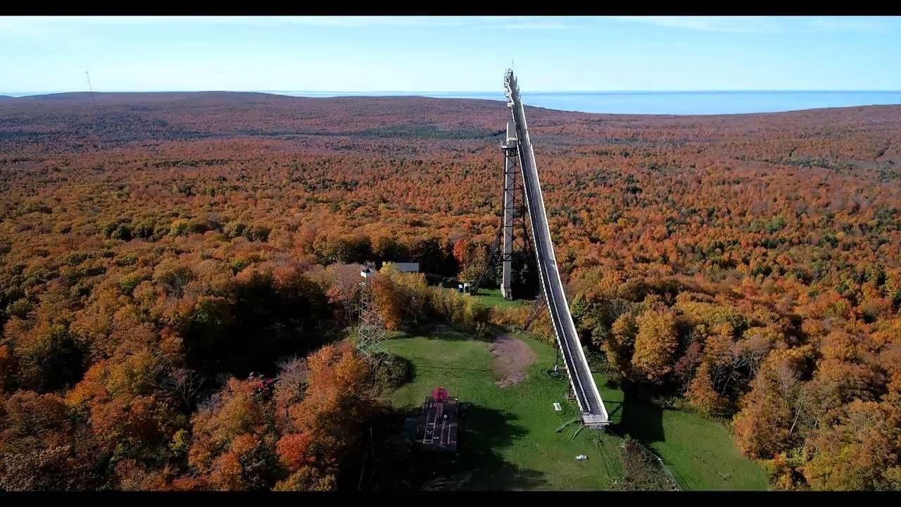 8 ways to see sky-high fall color views in Michigan
