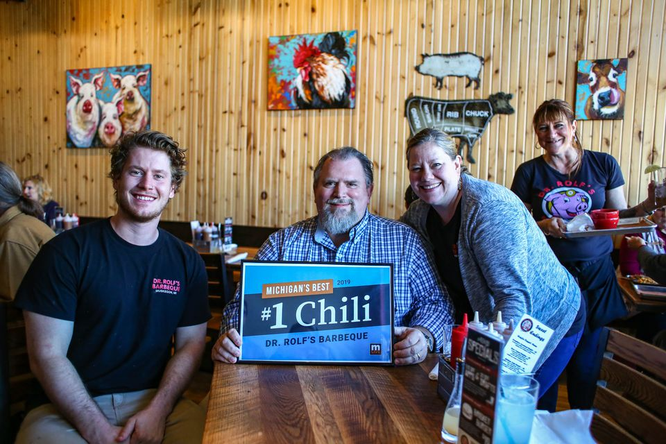 Dr. Rolf's Barbecue in Muskegon is Michigan's Best Chili