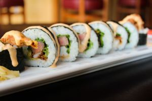 Rockwell Republic sushi roll surf & turf