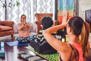 Traverse City Wellness Month - yoga