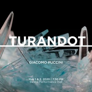 Turandot, from composer Giacomo Puccini, at Opera Grand Rapids May 1 and 2