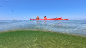 Kayaking in Munising MI