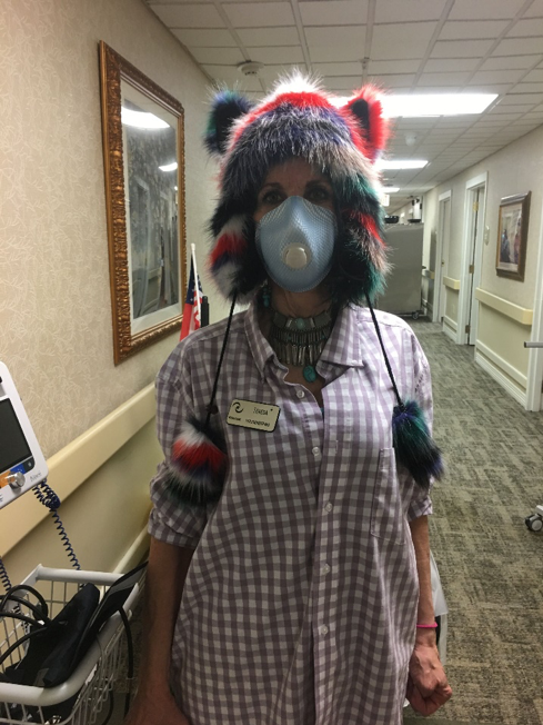 MediLodge staff members have been dressing up – and hamming it up for the camera – over the past several weeks. In addition to nursing staff, non-clinical employees including housekeepers, maintenance workers, admissions directors and resident advocates have been stepping up each day to make sure the facilities are safe, clean and operating with proper COVID-19 precautions while still having fun
