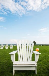 Adirondack chair at Mission Point Resort