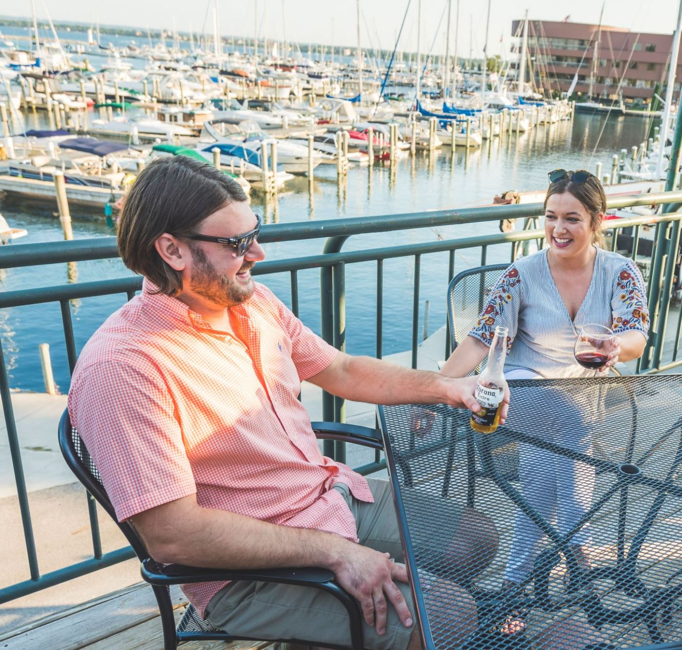 Looking for places to dine alfresco? Traverse City has over 200 beautiful options