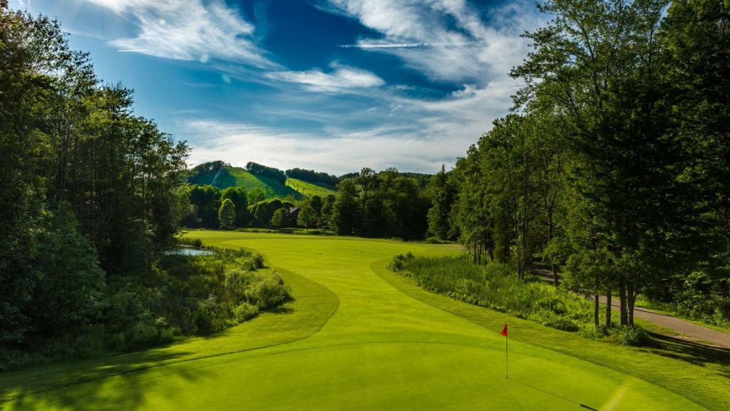 Betsie Valley is one of two championship golf courses at Crystal Mountain Resort in Michigan's Benzie County.
