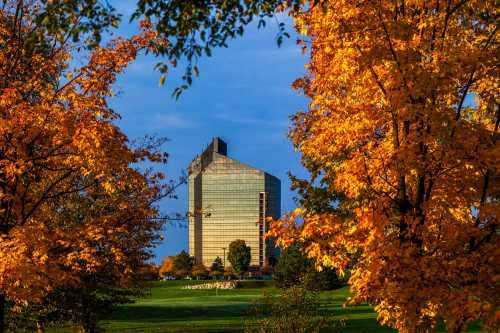Grand Traverse Resort in the autumn