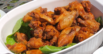 Blis Gourmet chicken wings