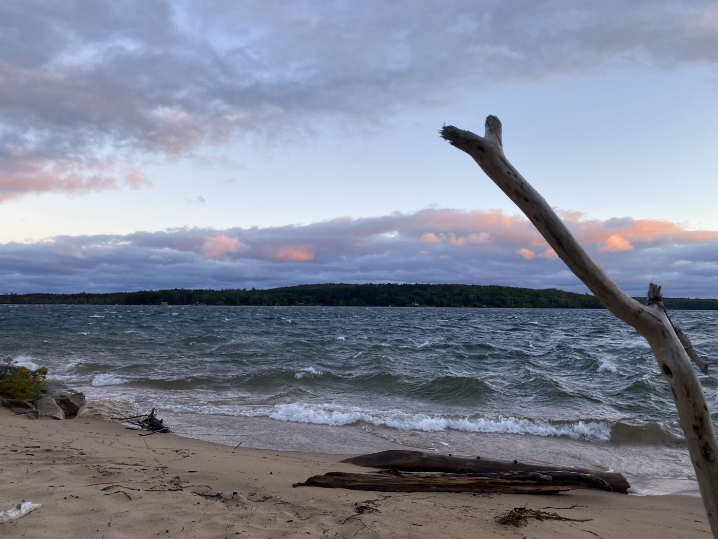 In a Time of Screens and Falls in Munising, MI