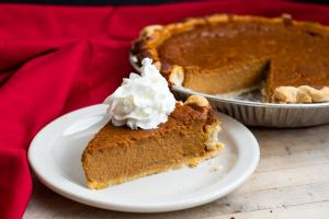Pumpkin pie from Crust, a baking company