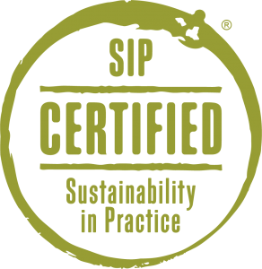 SIP Certified Sustainability in Practice trademark logo