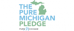 Pure Michigan Pledge logo