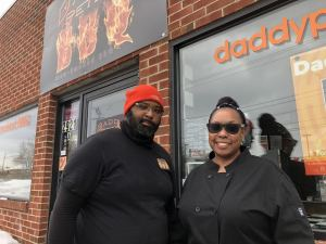 Cory and Tarra Davis of Daddy Pete's BBQ